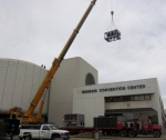 Gary Genesis Center Air Handler Lift 2